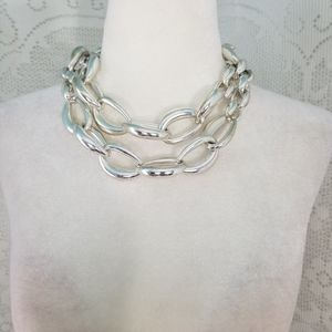 Chico's Silver Chain Necklace